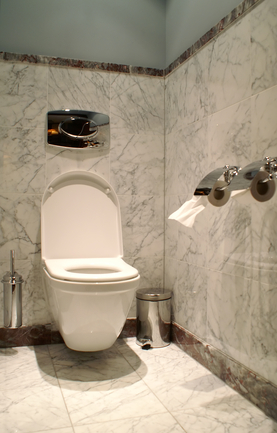 how to clean brown ring in toilet bowl