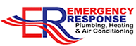 Emergency Response Plumbing, Heating & Air Conditioning, Inc. Logo